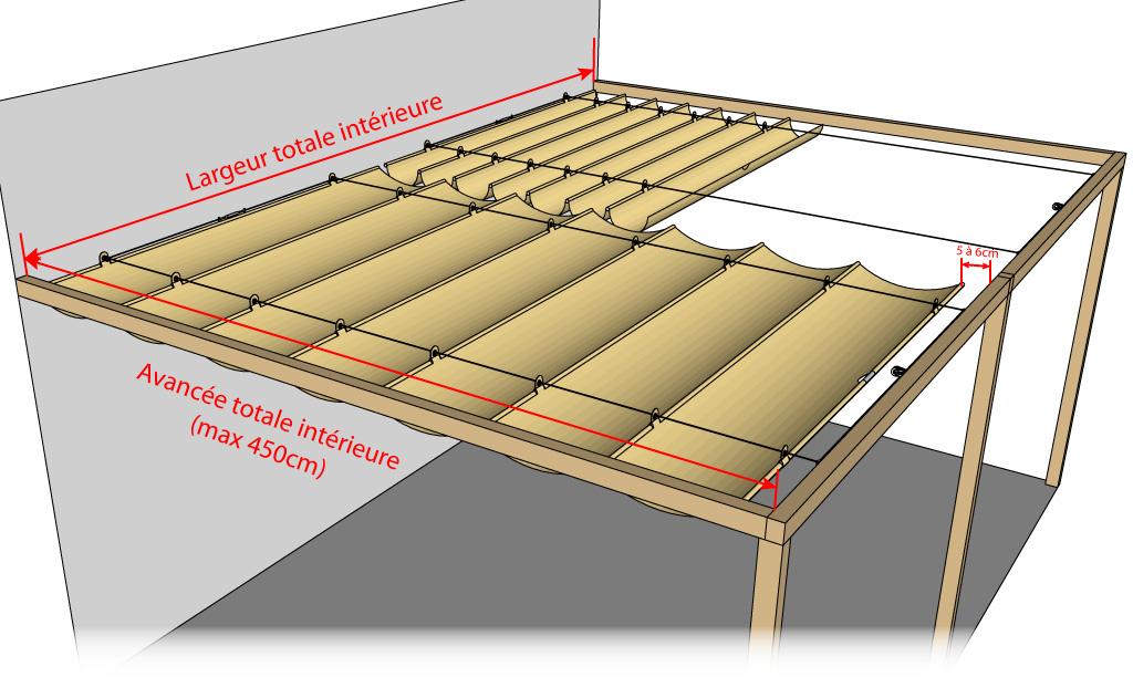 bache cr ation vente en ligne de bache store velum. Black Bedroom Furniture Sets. Home Design Ideas