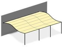 bache pour tonnelle. Black Bedroom Furniture Sets. Home Design Ideas