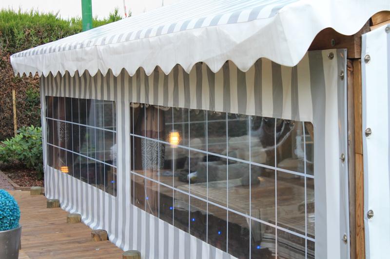 Bache Création Bache De Terrasse Sur Mesure Type Coté Droit