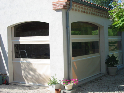 Bache cr ation vente en ligne de bache pergola bache for Bache terrasse transparente